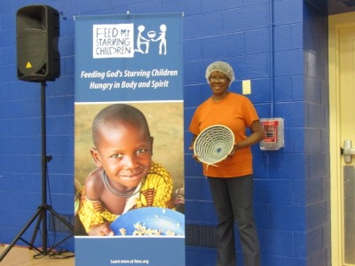 Feed My Starving Children  April 28th 2018
