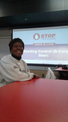 Stop the Bleed Class April 14th 2018