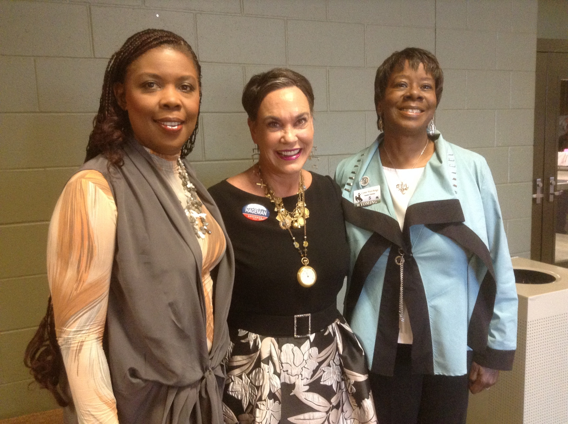 With Star Parker & Gubnetorial Candidate Harriet Hageman