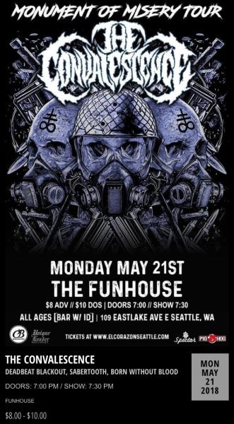 Funhouse - Seattle, WA. May 21, 2018