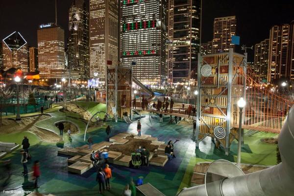 maggie daley park in grant park chicago