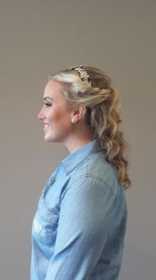 Bridal Updo done by Kelly S.