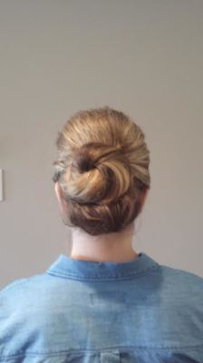 Bridesmaid Updo done by Suesie L.