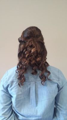 Bridesmaid Updo done by Kelly S.