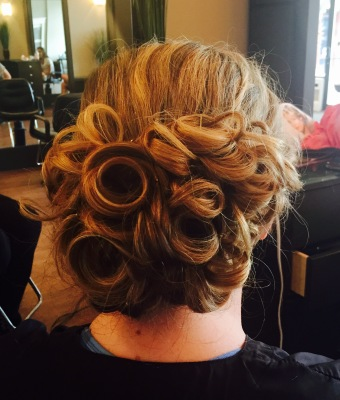 Updo done by Kelly S.