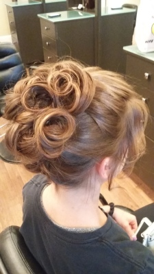 Updo done by Jessie S.