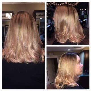 Hair done by Sarah O.