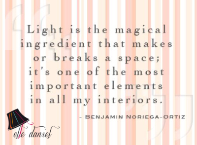 Light is a magical ingredient