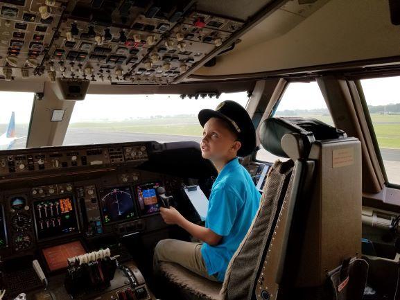 Virgin Atlantic 747-400 Orlando to Belfast International Airport