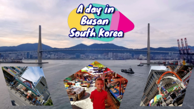 Busan South Korea - Shopping, eats, Jagalchi Fish Market tours