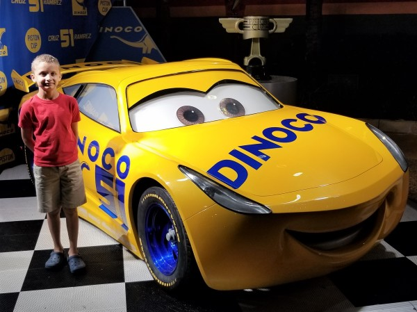 New Attraction Cars Lightning McQueen's Racing Academy