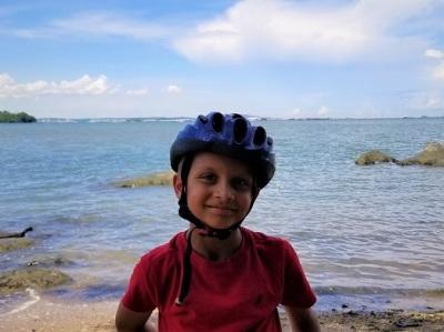 Biking Pulau Ubin Singapore