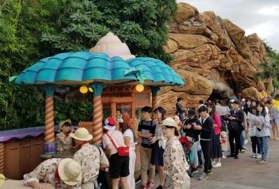 Flavored Popcorn at Tokyo Disneyland