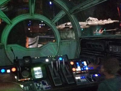 Pilot Millennium Falcon Orlando Disney's Hollywood Studios