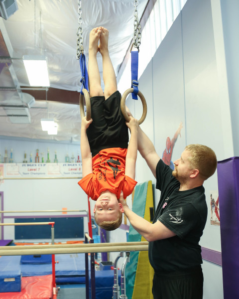 Boys Progressive Gymnastics