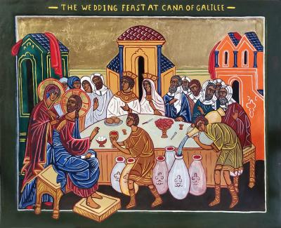 Wedding Feast At Cana.24 Wedding Feast At Cana