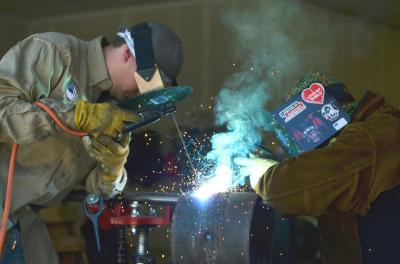 Freedom Arc Welding Makes Front Page News