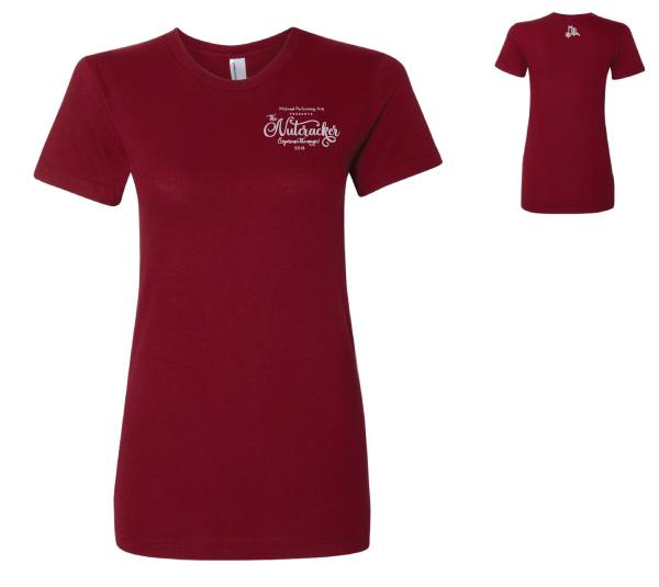 Women's Fine Jersey T-Shirt #2102W