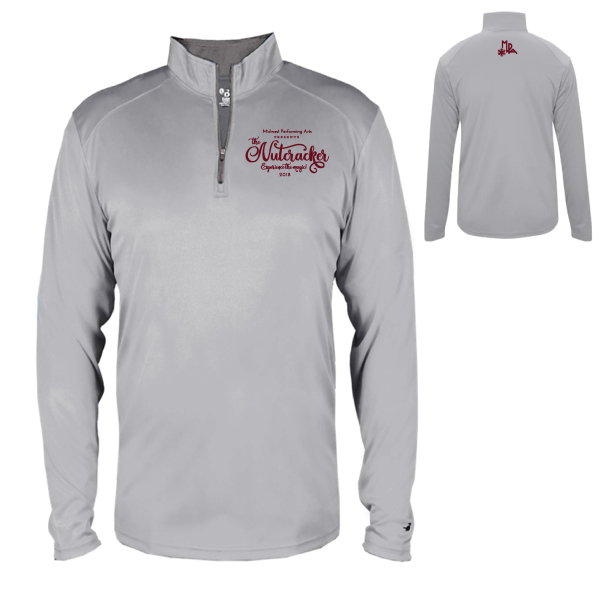 Youth Quarter-Zip Pullover #2102