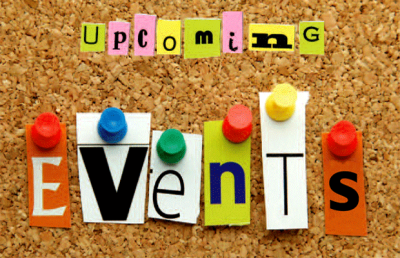 Up & Coming Events  and Team News