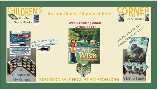 Fellow Author Features My Books