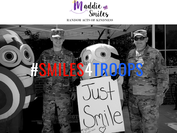 #Smiles4Troops