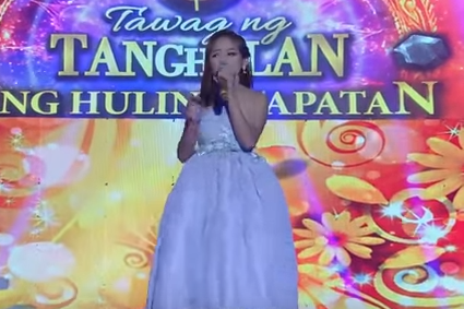 Janine HITS # 1 at Youtube  ( Tawag ng tanghalan )