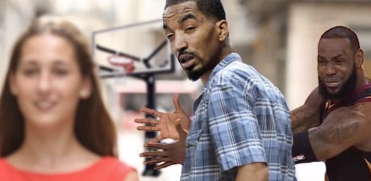 Jr Smith's memes gone viral at facebook and other social media