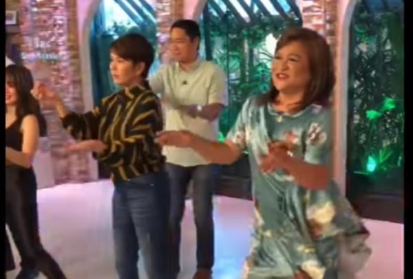 BBOOM BBOOM Dance Challenge ng mga Celebrities.
