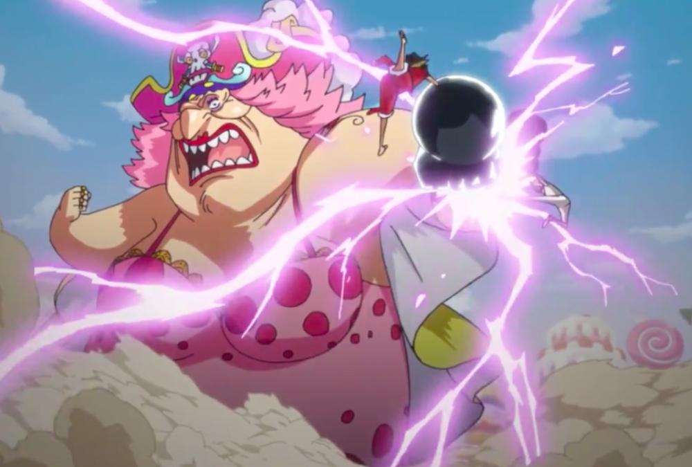 A Clash of Haki! Big Mom VS Luffy