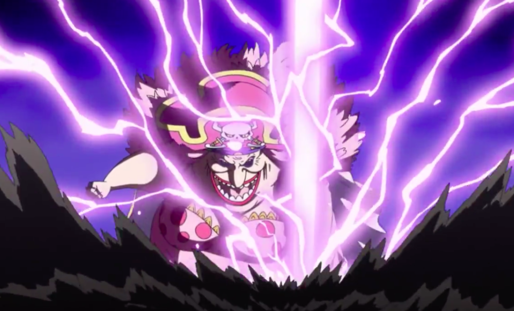 BigMom ThunderBolt ( Judge Saves Luffy )