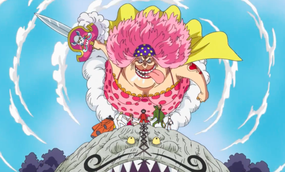 BIGMOM Blade of Destruction! One Piece 844