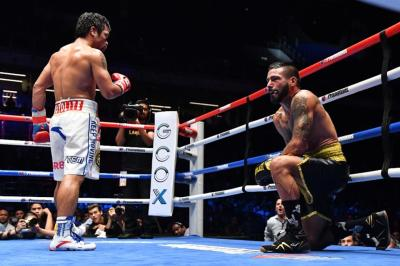 Pacquiao vs Matthysse - POST FIGHT INTERVIEW