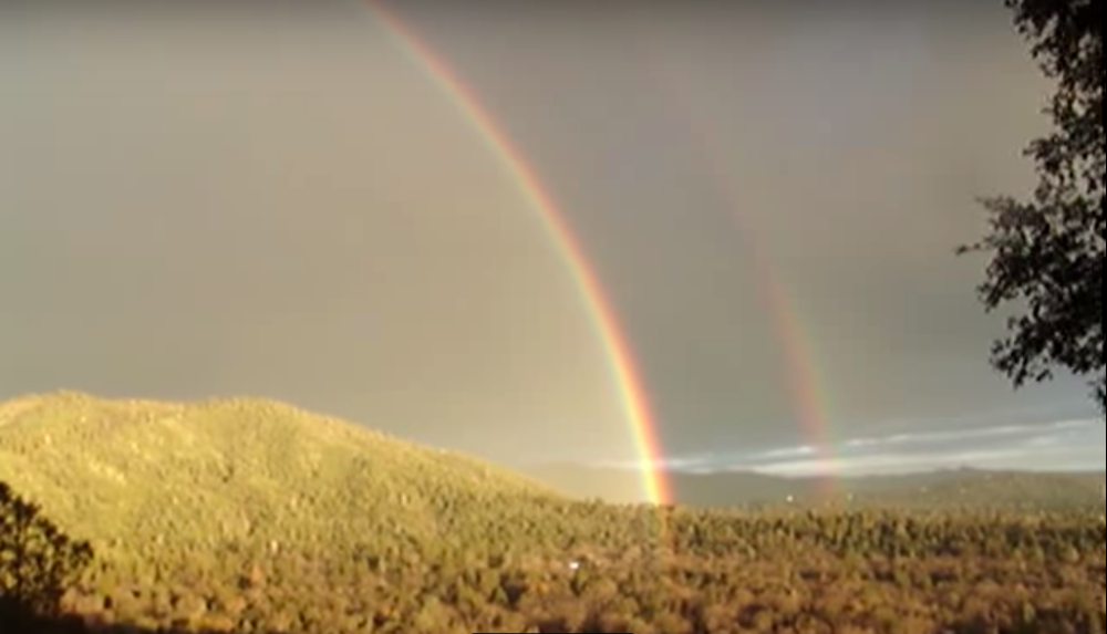 OMG! Double Rainbow Captured by Camera!