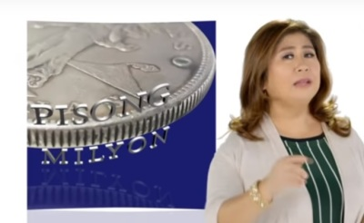 One peso to ONE MILLION.