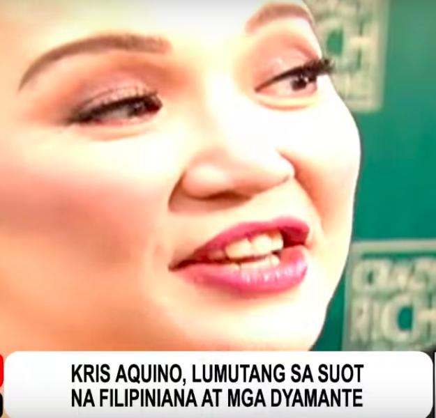"""Agaw attention si Kris Aquino sa premiere ng pelikulang """"Crazy Rich Asians"""""""