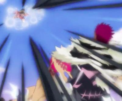 Luffy and Katakuri Clash! Pedro Sacrifice!