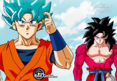 Goku VS Goku ( Other Side ) New DragonBall Heroes 2018