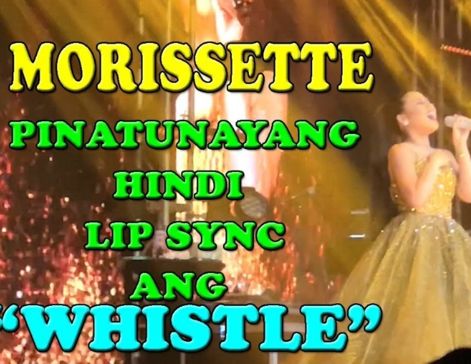 Lip Sync Morissette?? Here's the truth