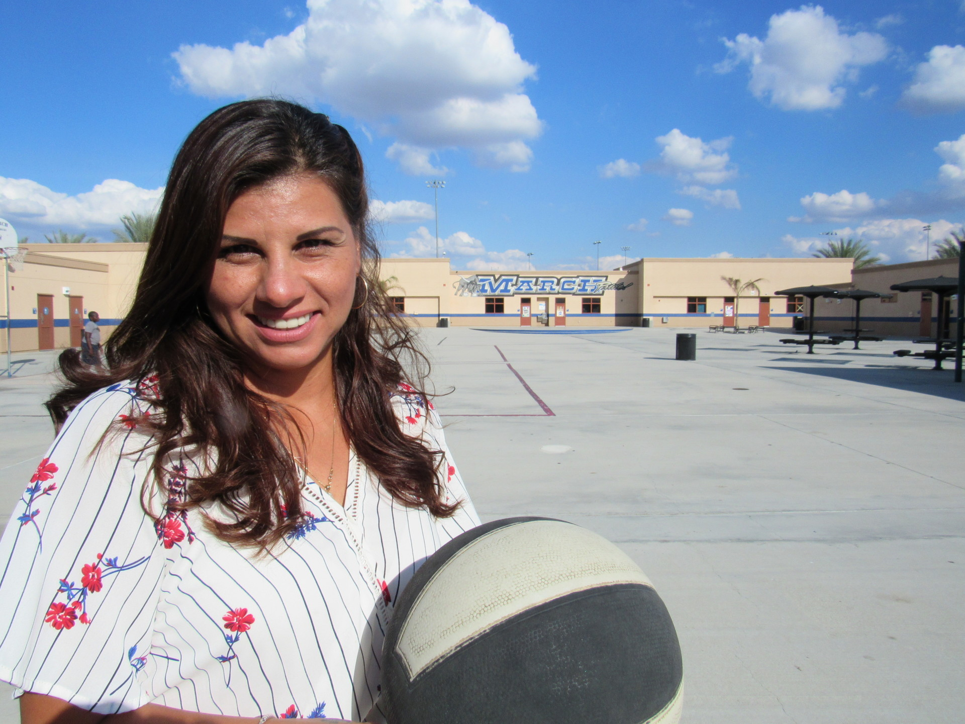 I seek to teach my P.E. students how to support others with special needs. ~Diana Martinez
