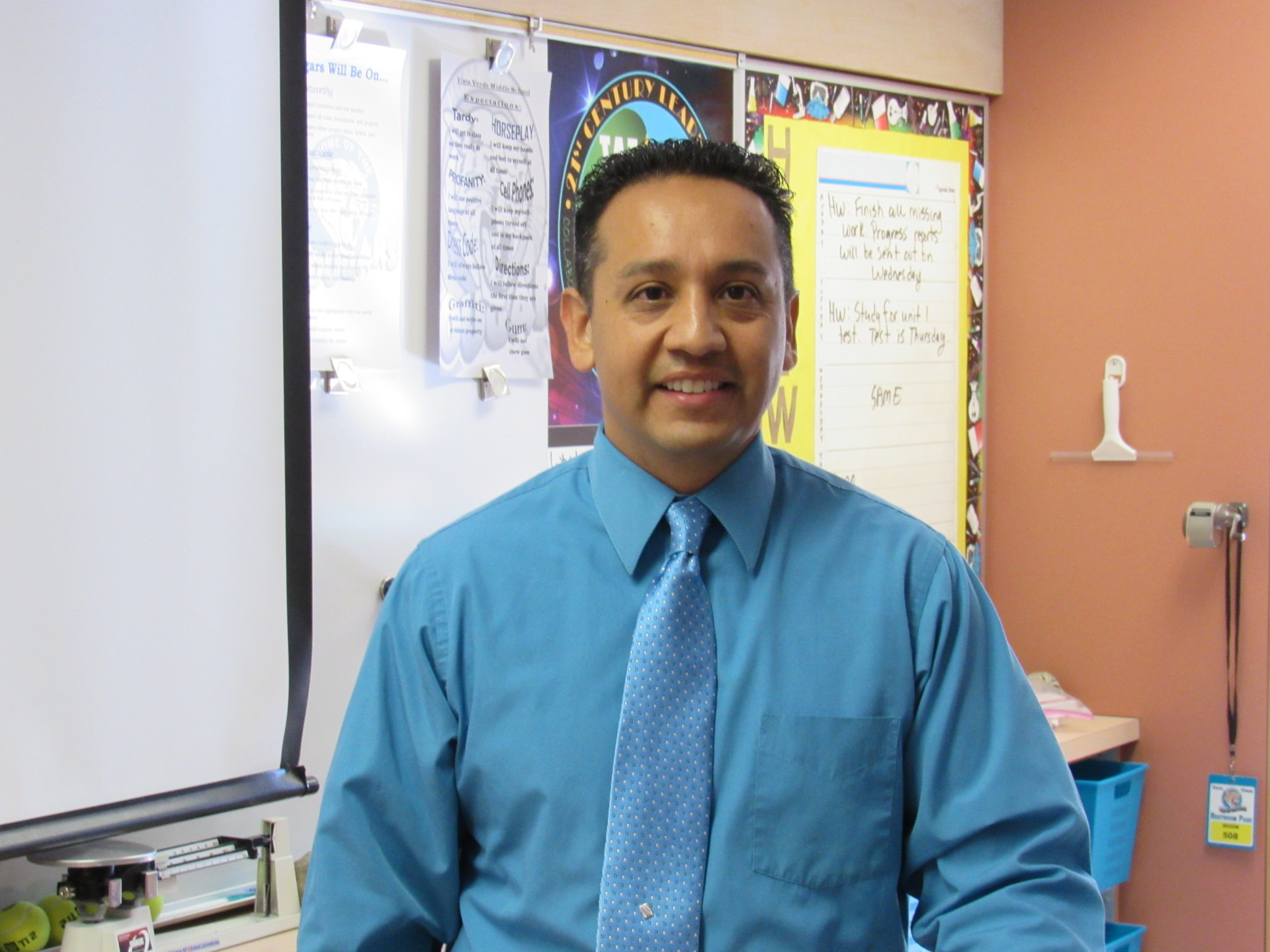 I will work tirelessly to create engaging lessons that promote critical thinking for all students! ~Luis Cortez