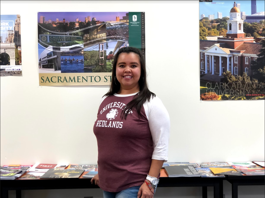 My aspiration is to become a reliable and efficient source to our students in their personal and post-educational development, and to help achieve their dreams after high school. ~Yessikha Romero