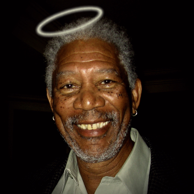 Morgan Freeman? No.