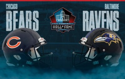 Ravens/Bears HOF Gameday Live Thoughts