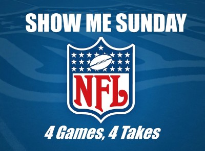Show Me Sunday, 4 Games / 4 Takes
