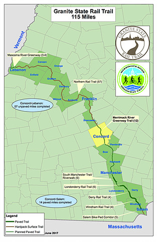 Rail Trails - Connecting New Hampshire Communities on