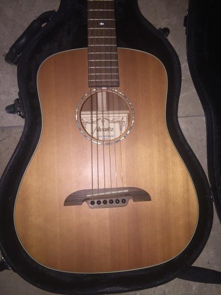 2005 Alvarez MSD1 ¾ Dreadnought Acoustic/ Electric