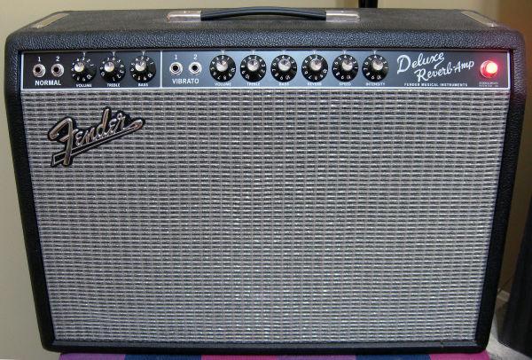 Fender 65 Reverb Deluxe Blackface