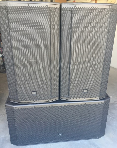 JBL SRX 828 Subs & 835 Main Speakers