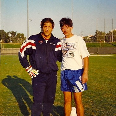 Tony Meola and Boro Sucevic